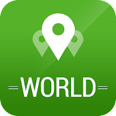 World Travel App, Guide & Maps