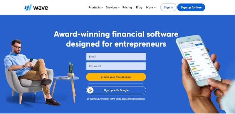 Wave: Free Small Business Accounting Software