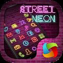 Street Neon MegaLauncher Theme icon