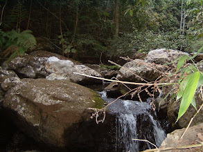 Photo: Whole afternoon we hiked over and over the creeks before we camped