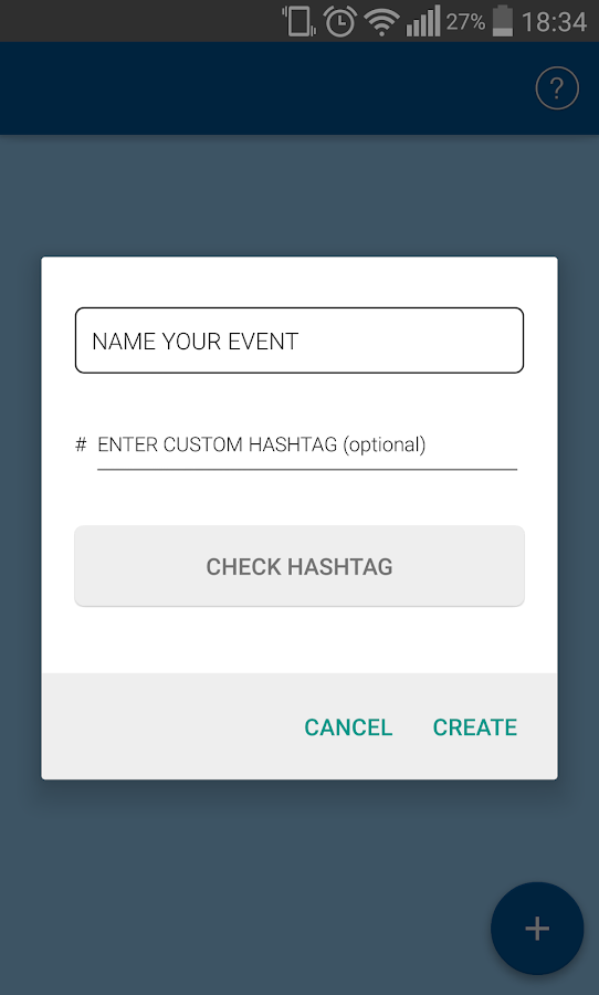 EventCast: Twitter for Events
