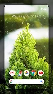 Galaxy Rain ☔ 4K HD Wallpapers For S10 Screenshot
