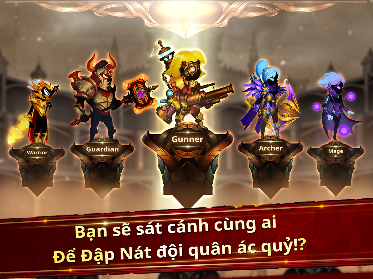 Stickman Legends - Ninja Hero: Knight, Shooter RPG- ảnh chụp màn hình