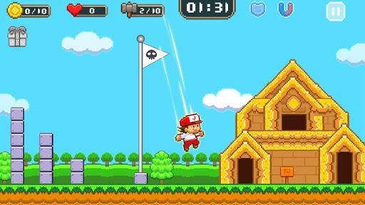 Super Jim Jump - pixel 3d 3.5.5002 Screenshots 1