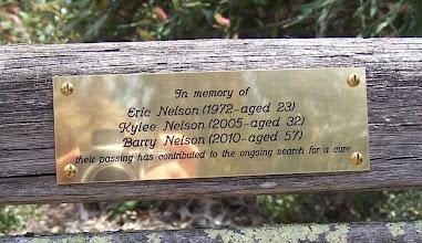Photo: plaque detail