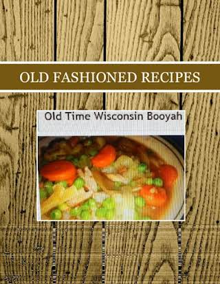 OLD FASHIONED RECIPES