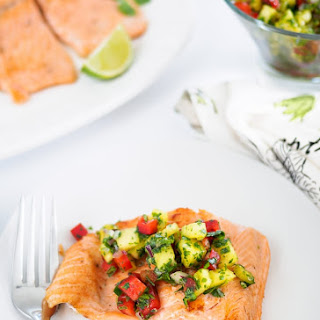 Pan Fried Rainbow Trout with Pineapple Salsa Recipe