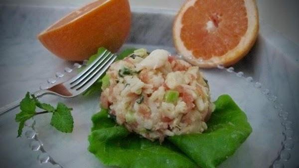 Pamplemousse Shrimp And Rice Salad Recipe