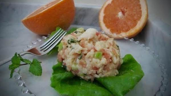 Pamplemousse Shrimp And Rice Salad Recipe