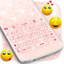 Girly Pink Keyboard Theme APK icon