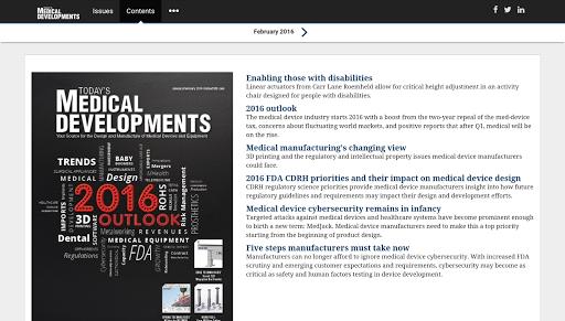 Today's Medical Developments screenshot 5