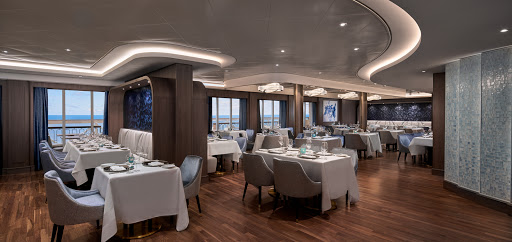 ncl_Encore_Ocean_Blue.jpeg -  Fresh seafood and ocean views come together for an epic evening of dining at Ocean Blue on Norwegian Encore.