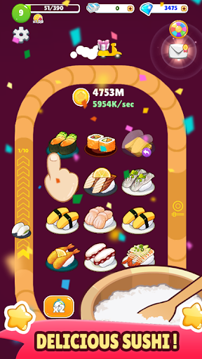 Sushi Bravo : Merge Sushi 1.0.2 screenshots 2