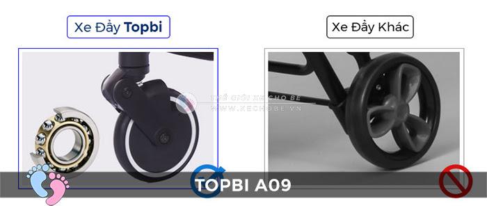 Xe đẩy trẻ em TOPBI A09 22