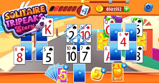 Solitaire Tripeaks Story - 2020 free card game modavailable screenshots 6