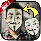 Anonymous masks photo editor