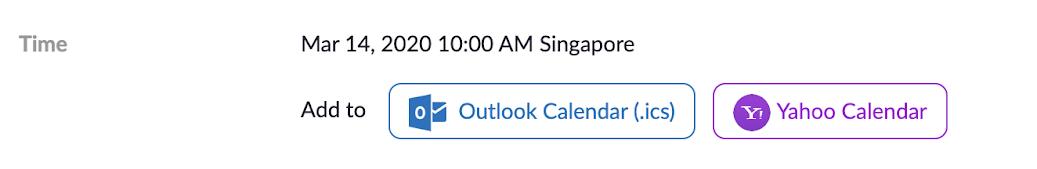 No Google Calendar in Zoom?