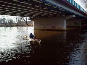 Photo: Pod przedborskim mostkiem