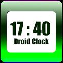 Droid Clock - clock widget icon