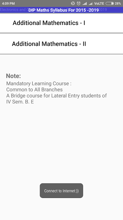 VTU ECE Syllabus – (Android Εφαρμογές) — AppAgg