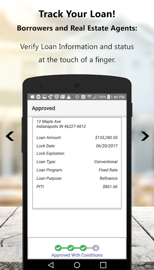 Approved Mortgage- screenshot