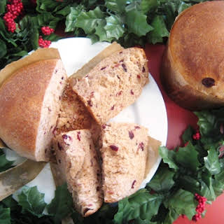Cranberry Christmas Bread.