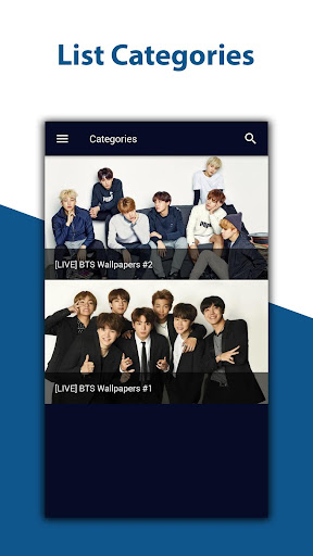 BTS Live Wallpapers (High Resolution) 1.0.4 screenshots 2