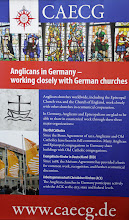Photo: The Anglicans in Germany shared a stand with our Old Catholic Church friends.