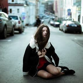 Helen by Oleg Bagmutskiy - People Portraits of Women