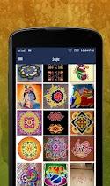 Diwali rangoli design - screenshot thumbnail 01