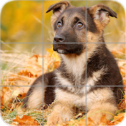 Puppies Puzzle: Shepherd