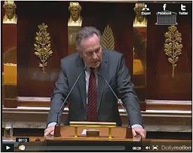 Photo: Vidéo. 29/03/11 François michel Gonnot. Assemblée Nationale.  http://www.dailymotion.com/video/xhwuts_le-patron-de-l-amical-des-foreurs-a-l-assemblee-euh-non-pardon-francois-michel-gonnot-depute-ump_news