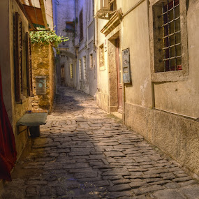 old town by Mara R. Sirako - City,  Street & Park  Historic Districts ( history, old house, piran, cultural heritage, pirano, old town, old city, stone, old building, medieval, historic,  )