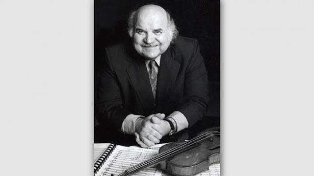 O Ηπειρώτης συνθέτης - βιολιστής - μαέστρος και παιδαγωγός Ντίνος Κωνσταντινίδης