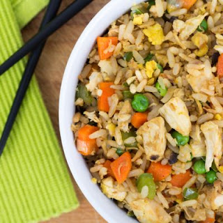 Sweet And Soy Chicken Fried Rice