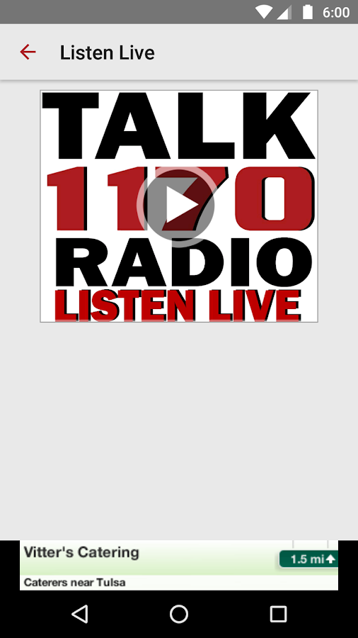 Talk Radio 1170 KFAQ- screenshot