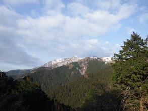 岩場からの展望(山頂方面)