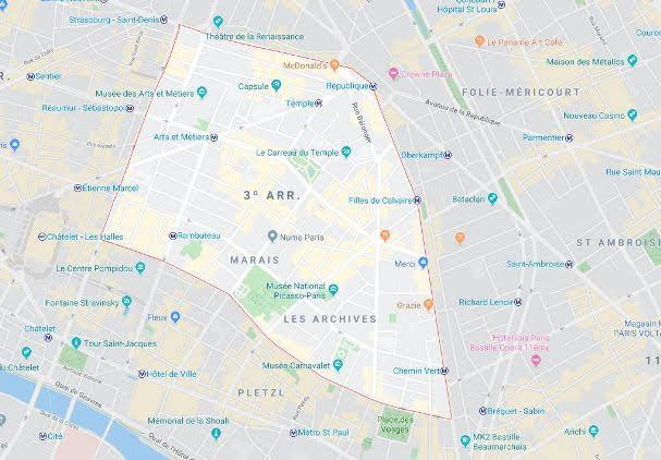 3º arrondissement du Temple