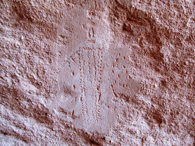 Incised figure