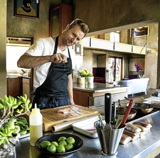 South African chef Neill Anthony's cooks in kitchens all over the world.