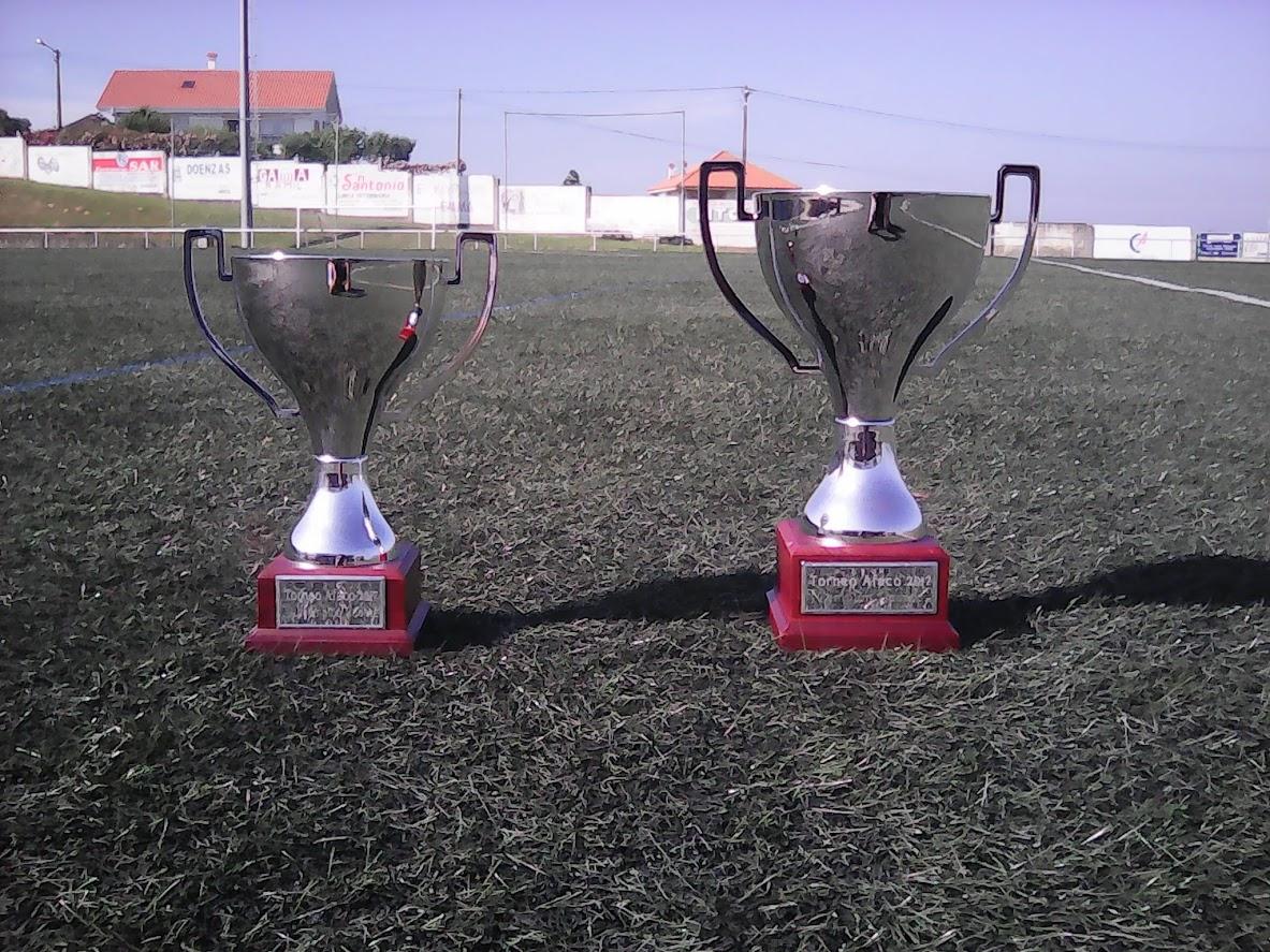 ADR Numancia de Ares. Trofeos Torneo AFACO de Cadetes 2016-2017.