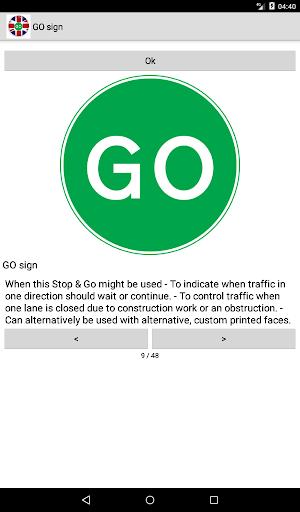 Road signs (Traffic Signs) United Kingdom  screenshots 12