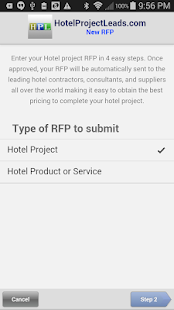 HotelProjectLeads.com- screenshot thumbnail