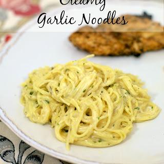 Creamy Garlic Noodles {Homemade Pasta Roni}