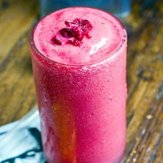 Raspberry Ritual Vitality Smoothie.