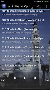 AlQuran Offline Mp3 114 Surah - náhled