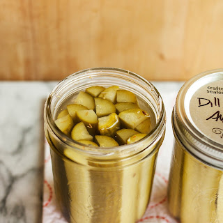 How to Make Dill Pickles.