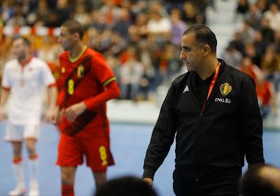 Futsal: l'Euro file entre les doigts des Diables Rouges