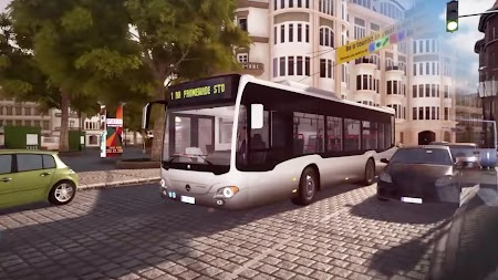 City Bus Driving offroad Uphill Bus simulator Game APK screenshot thumbnail 2