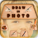 Draw over Photo icon